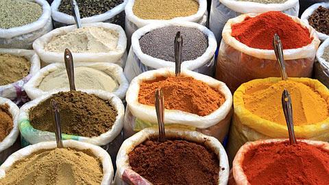 Indijska kuhinja začimb
