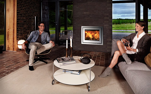 Kamin Lotus - Stainless Steel